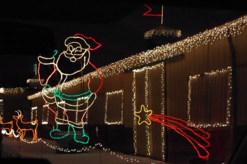 Santa - the jolly old elf!