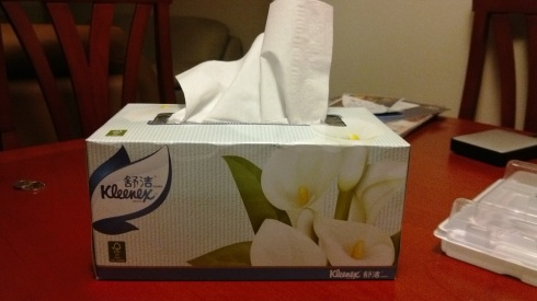 Yes - Kleenex has crossed the pond