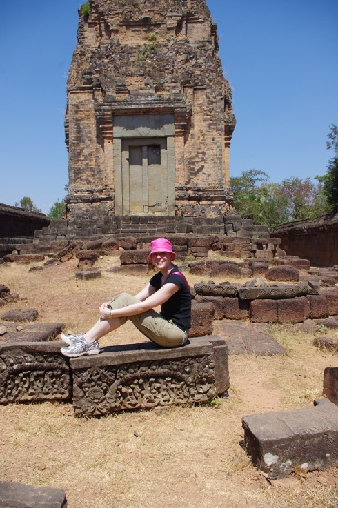 This temple was all about posing.