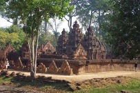 View from afar - a petite temple