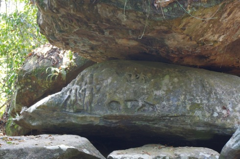More carvings - likely over 700 years old