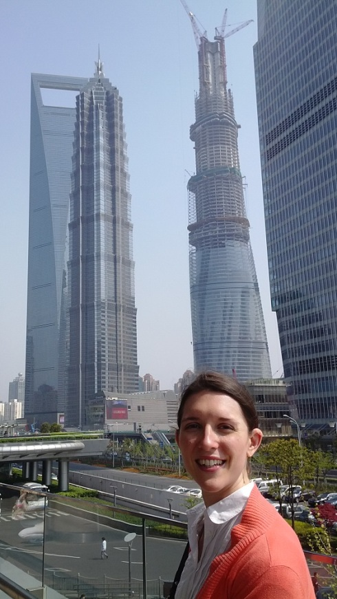 Jin Mao, Global Financial Center and the Shanghai Tower (under construction)
