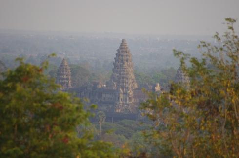 Angkor Wat - an aerial view