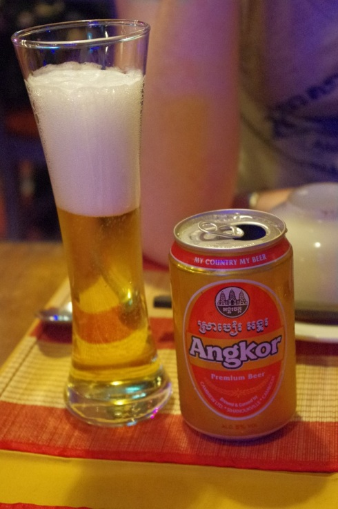 Had to have at least one Angkor Beer while I was in Cambodia!