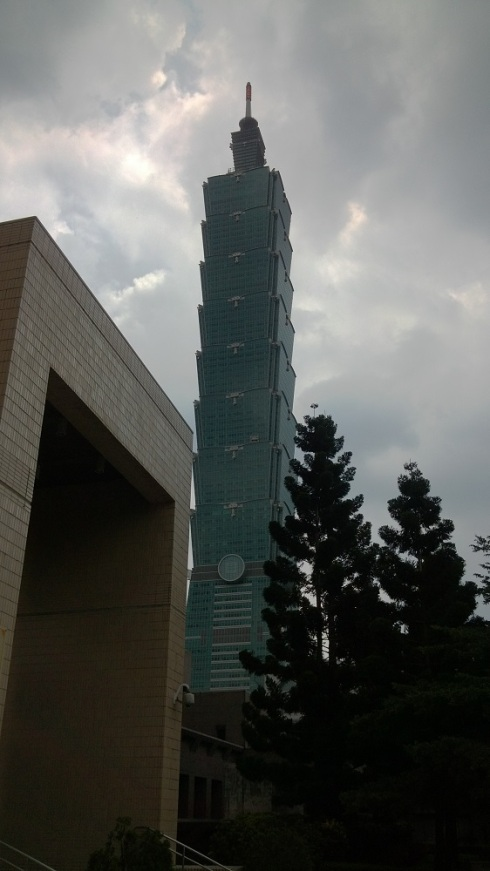 Approaching the tower