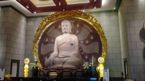 The Buddha - meditating
