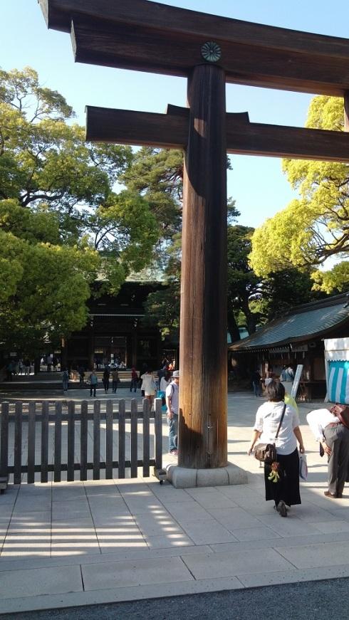 Approaching the main shrine