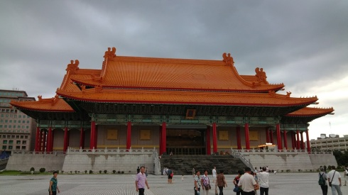 One of the great halls - with traditional tile roof