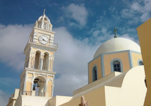 Catholic Church in Fira, Santorini