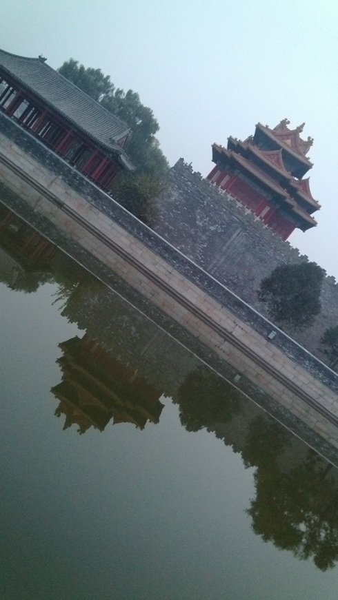 This shot was taken just as we left the Forbidden City - I noticed the reflection in the water and thought about how I could capture it.  One of my favorite photos recently.