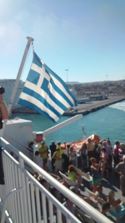 Casting off under the Greek flag