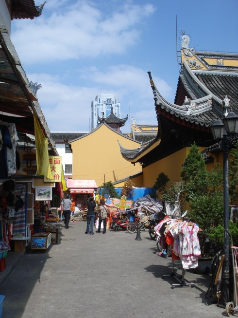 Many stalls around Yu Yuan