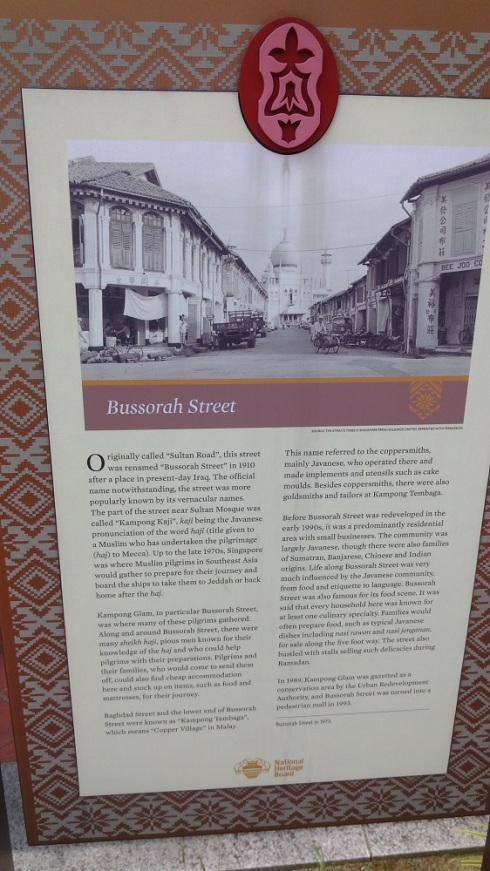 A little history of the area