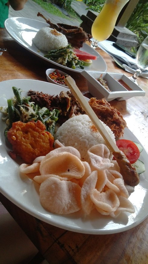 Exotic Indonesian fare