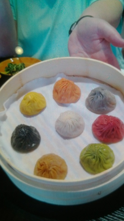 Eight different types of soup dumplings!