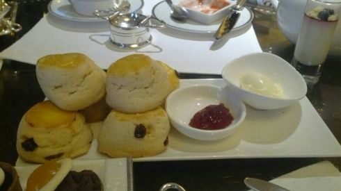 My favorite - the scones!
