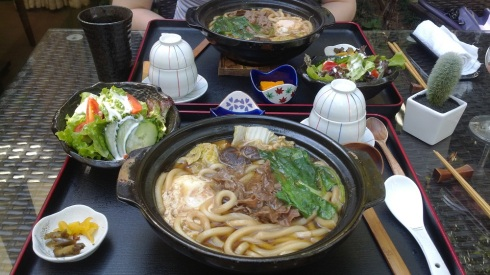 Beef udon sets